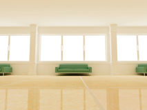 Diseño interior - Pasillo fotografía de archivo libre de regalías