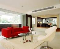 Diseño interior - viviendo Foto de archivo libre de regalías