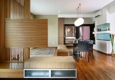 Diseño interior - viviendo Fotografía de archivo libre de regalías