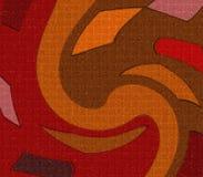 Diseño interior y exterior del mosaico Imagen de archivo