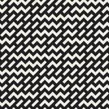 Diseño irregular de Maze Shapes Tiling Contemporary Graphic Modelo blanco y negro inconsútil del vector Imágenes de archivo libres de regalías