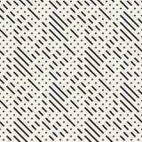 Diseño irregular de Maze Shapes Tiling Contemporary Graphic Modelo blanco y negro inconsútil del vector Fotos de archivo