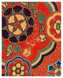 Diseño japonés abstracto de las ilustraciones Foto de archivo