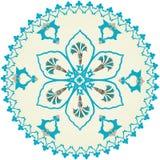 Diseño limpio del otomano tradicional Imagen de archivo libre de regalías