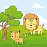 Diseño lindo de los animales Imagen de archivo libre de regalías