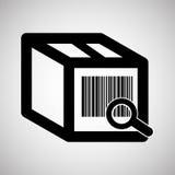 Diseño logístico Concepto del envío y de la entrega Imagen de archivo libre de regalías