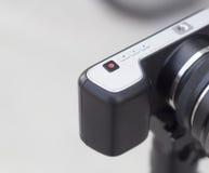 Diseño mínimo de la cámara clásica de Mirrorless Imagen de archivo libre de regalías