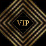 Diseño MÍNIMO de la cubierta del ORO del vector Plantilla de la cubierta excelente para la promoción, tarjeta de visita, belleza, Imagen de archivo
