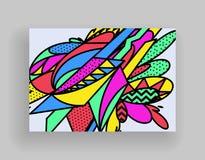 Diseño mínimo de las cubiertas Plantillas del cartel fijadas con las formas geométricas abstractas, diseño plano del estilo brill libre illustration