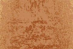 Diseño mínimo moderno y elegante Fondo brillante de cobre Textura metálica Metal de bronce ilustración del vector