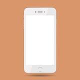 Diseño móvil de la tecnología del ejemplo del vector del smartphone del teléfono Imagen de archivo