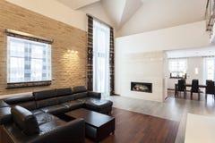 Diseño magnífico - sala de estar Fotos de archivo