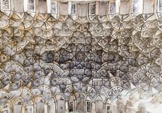 Diseño marroquí del techo Foto de archivo libre de regalías
