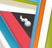 Diseño material moderno inusual del fondo libre illustration