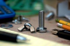 Diseño mecánico Foto de archivo