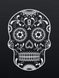 Diseño mexicano artístico del cráneo libre illustration