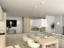 Diseño moderno de interior Imagen de archivo libre de regalías