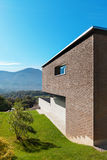Diseño moderno de la arquitectura, casa Imagenes de archivo
