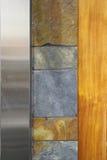 Diseño moderno de la pared Fotografía de archivo libre de regalías