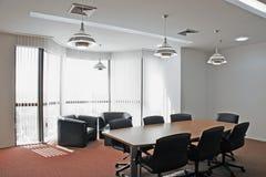 Diseño moderno de la sala de conferencias fotografía de archivo libre de regalías