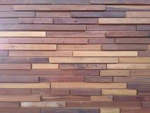 diseño moderno de madera de la teja fotografía de archivo libre de regalías