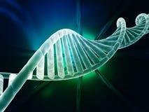 Diseño moderno del hilo de la DNA Fotos de archivo
