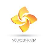 Diseño moderno del logotipo ilustración del vector