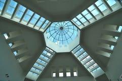 Diseño moderno del techo Foto de archivo libre de regalías