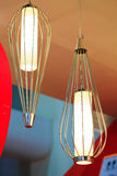Diseño moderno hermoso de lámparas del techo de la rota Fotos de archivo