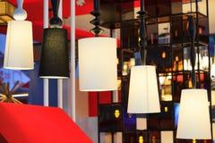 Diseño moderno hermoso de lámparas del techo de la rota Fotos de archivo libres de regalías