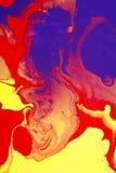Diseño mojado de las pinturas Foto de archivo libre de regalías