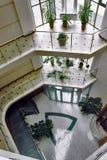 Diseño muy creativo dentro del hotel Foto de archivo libre de regalías