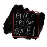 Diseño negro del fondo de la venta de viernes Fotografía de archivo libre de regalías