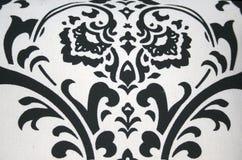Diseño negro en el fondo blanco Imagenes de archivo