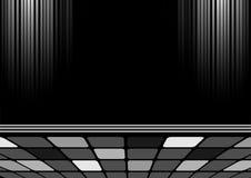 Diseño negro - opinión de perspectiva Stock de ilustración