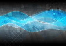Diseño ondulado de alta tecnología Foto de archivo libre de regalías
