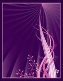 Diseño orgánico de la paginación Imagen de archivo libre de regalías