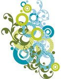 Diseño ornamental abstracto Foto de archivo libre de regalías