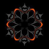 Diseño ornamental del vector Imágenes de archivo libres de regalías
