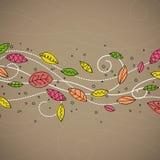 Diseño otoñal Imagen de archivo libre de regalías