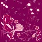 Diseño púrpura del fondo Imagenes de archivo