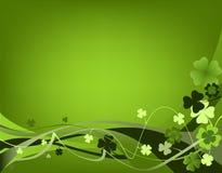 Diseño para el día del St. Patrick Imagen de archivo libre de regalías