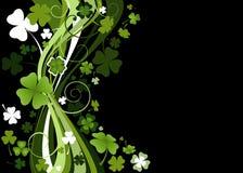 Diseño para el día del St. Patrick stock de ilustración