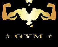 Diseño para el gimnasio y la aptitud Imagen de archivo