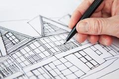Diseño para la casa Fotos de archivo