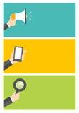 Diseño plano stock de ilustración