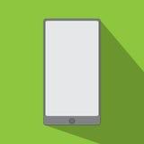 Diseño plano del icono de Smartphone Imagenes de archivo