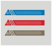 Diseño plano moderno del folleto Foto de archivo libre de regalías