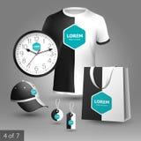 Diseño promocional de los elementos Fotografía de archivo libre de regalías