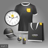Diseño promocional de los elementos Imagenes de archivo